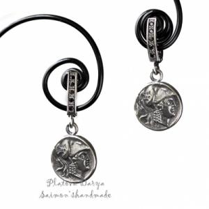 """Серебряные cерьги """"Athena"""""""