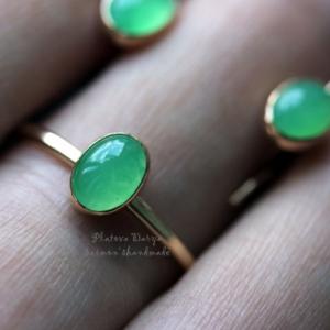 """Кольцо """"Apple green"""""""
