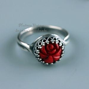 "Кольцо ""Red rose"""