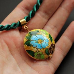 "Кулон ""Blue flower"""