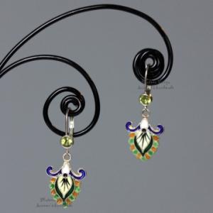 "Серьги ""Byzantium silver"""