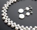 """Жемчужное колье """"Pearl lace"""""""