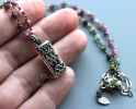 """Открывающийся серебряный медальон """"Ornamental secret"""""""""""