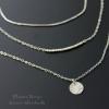 Серебряное украшение на шею с жемчугом