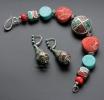 """Этнический браслет """"Tibet queen silver"""""""