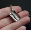 """Открывающийся серебряный медальон """"2 happiness 2"""""""